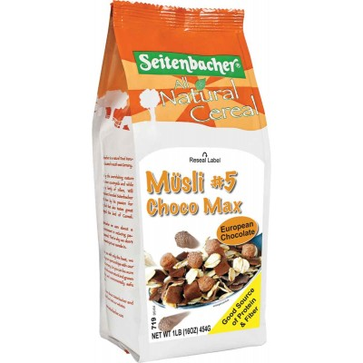 Seitenbacher Choco Max Muesli Cereal