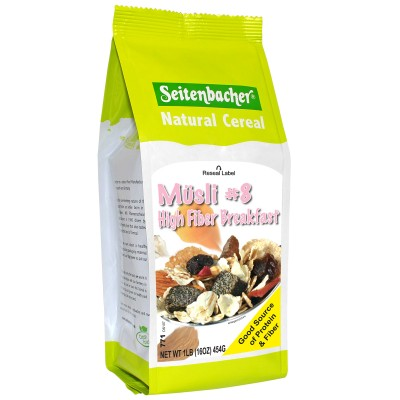 Seitenbacher Muesli #8 High Fiber Breakfast