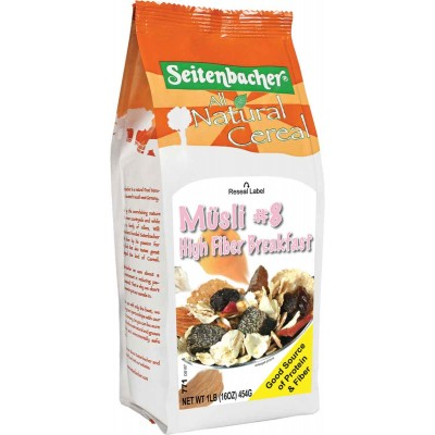 Seitenbacher High Fiber Breakfast Muesli Cereal