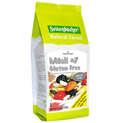 Seitenbacher Muesli #7 Gluten Free Strawberries & Almonds