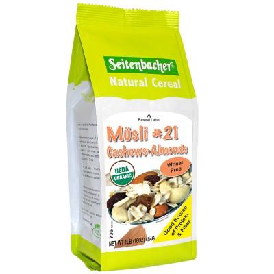 Seitenbacher Muesli #21 Cashews & Almonds