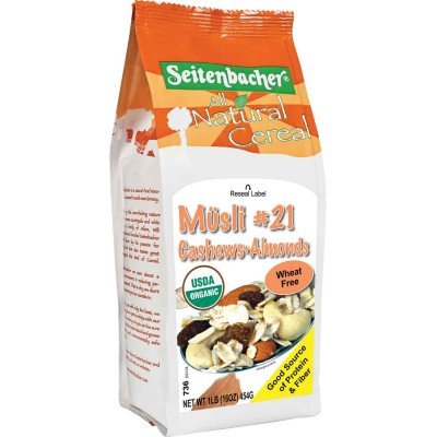 Seitenbacher Cashew & Almond Muesli Cereal