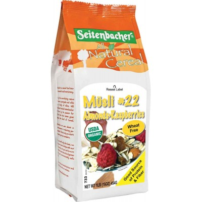 Seitenbacher Almond & Raspberries Muesli Cereal