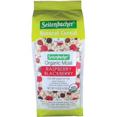 Seitenbacher Organic Muesli Raspberry Blackberry