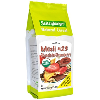 Seitenbacher Muesli #23 Chocolate & Strawberry