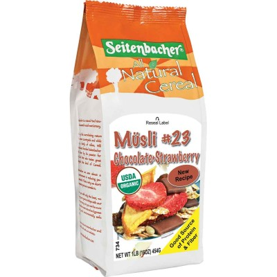 Seitenbacher Chocolate & Strawberry Muesli Cereal