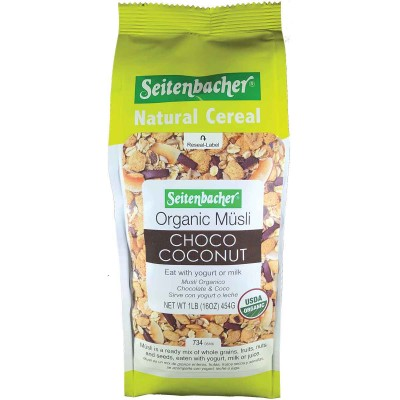 Seitenbacher Organic Muesli Choco Coconut