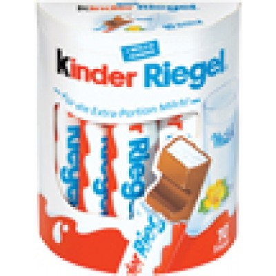 Kinder Riegel Chocolate Bar 10pk