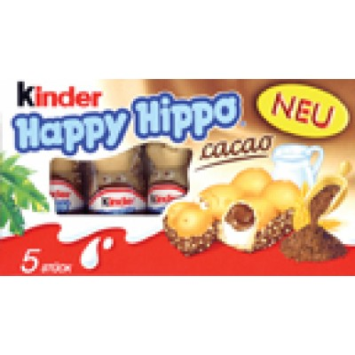Kinder Happy Hippo Cocoa Chocolate Bar