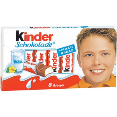 Kinder Chocolate Bars Mastercase