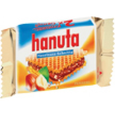 Kinder Hanuta Chocolate Bar 2pk