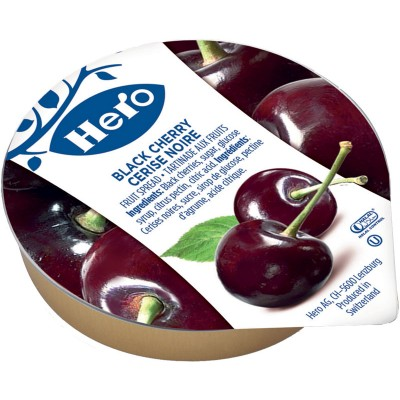 Hero Black Cherry Preserve Portion Packs
