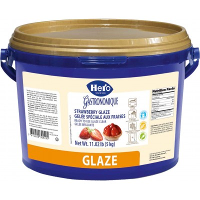 Hero Strawberry Glaze Bulk Pail