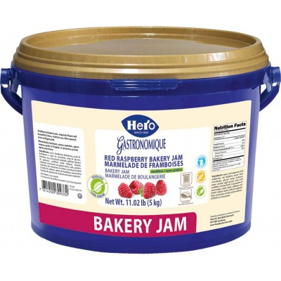 Hero Raspberry Marmalade Seedless Bulk Pail
