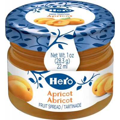 Hero Apricot Spread Mini Jars