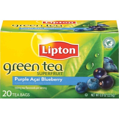 Lipton Acai and Blueberry Green Superfruit Tea