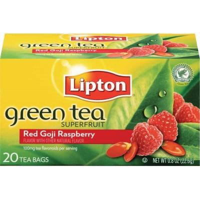 Lipton Red Goji and Raspberry Green Superfruit Tea