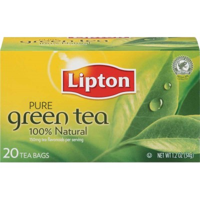 Lipton 100% Natural Pure Green Tea