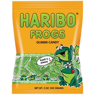 Haribo Frogs Bag