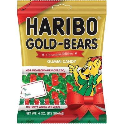 Haribo Christmas Edition Gold Bears