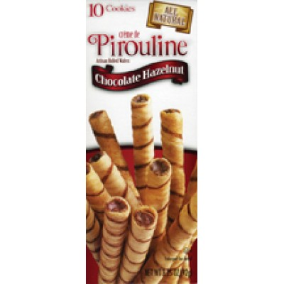 De Beukelaer Milk Chocolate Hazelnut Pirouline Box