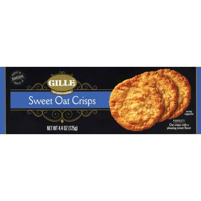 Gille Sweet Oat Crisps Cookie Box