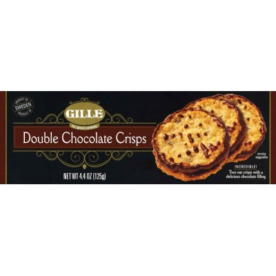 Gille Double Chocolate Crisps Cookie Box