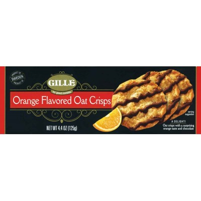 Gille Orange Crisps Cookie Box