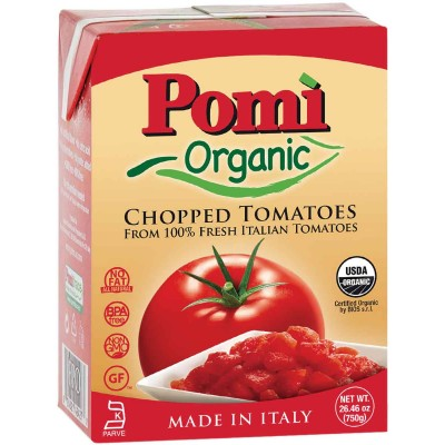 Pomi Organic Chopped Tomatoes