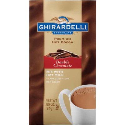 Ghirardelli Double Chocolate Hot Cocoa Packets