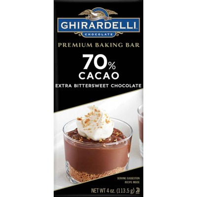 Ghirardelli 70% Dark Chocolate Bar