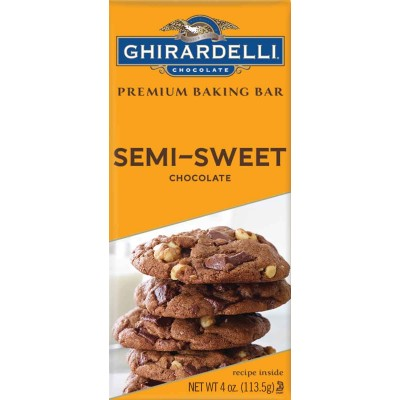 Ghirardelli Semi-Sweet Chocolate Bar