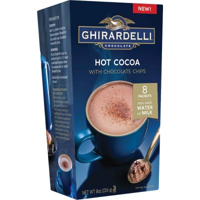 Ghirardelli Hot Cocoa 8 Pouches