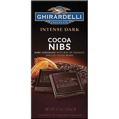 Ghirardelli Cocoa Nibs Intense Bar
