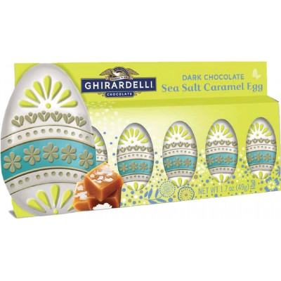 Ghirardelli Dark Sea Salt Caramel Egg Gift Set