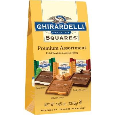 Ghirardelli Premium Assortment Stand up Bag Squares