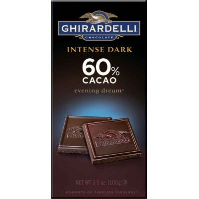 Ghirardelli 60% Cacao Evening Dream Intense Bar