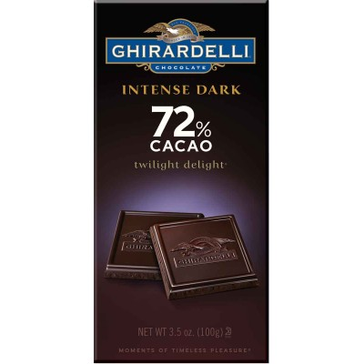 Ghirardelli 72% Cacao Twilight Delight Intense Bar