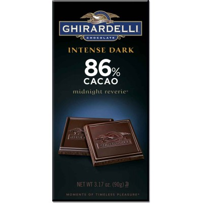 Ghirardelli 86% Cacao Midnight Reverie Intense Bar