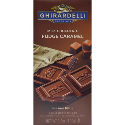 Ghirardelli Milk Chocolate Fudge Caramel Bar