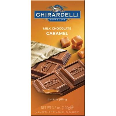 Ghirardelli Milk Chocolate with Caramel Filling Prestige Bar