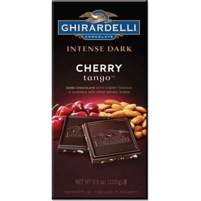 Ghirardelli Cherry Tango Intense Bar