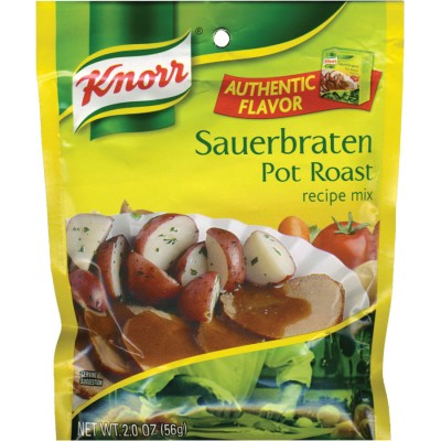 Knorr Pot Roast (Sauerbraten) Entree Recipe Mix