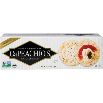 Capeachios Peppercorn & Poppy Cracker