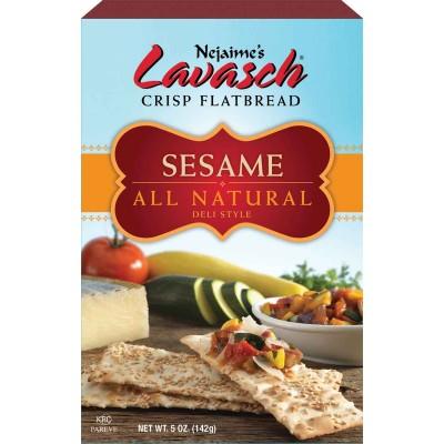 NeJaimes Sesame Lavasch Flatbread
