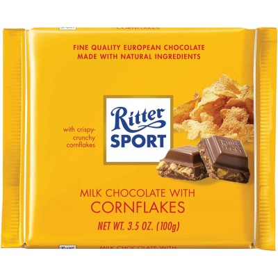 Ritter Corn Crisp Chocolate Bar