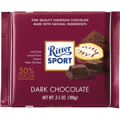 Ritter Bittersweet Chocolate Bar