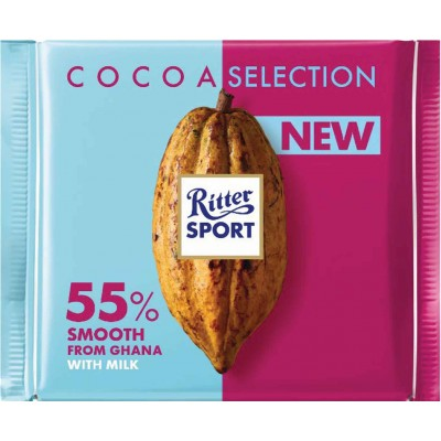 Ritter 55% Smooth Ghana Cocoa Bar