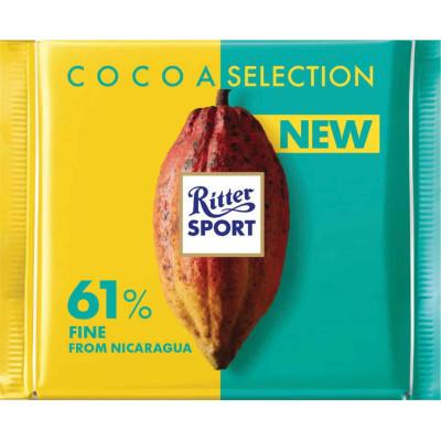 Ritter 61% Fine Nucaragua Cocoa Bar