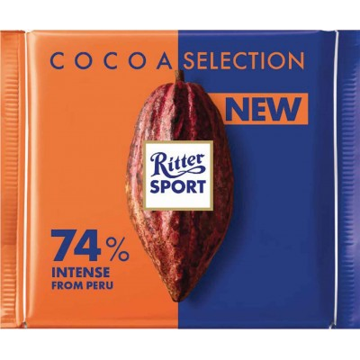 Ritter 74% Intense Peru Cocoa Bar